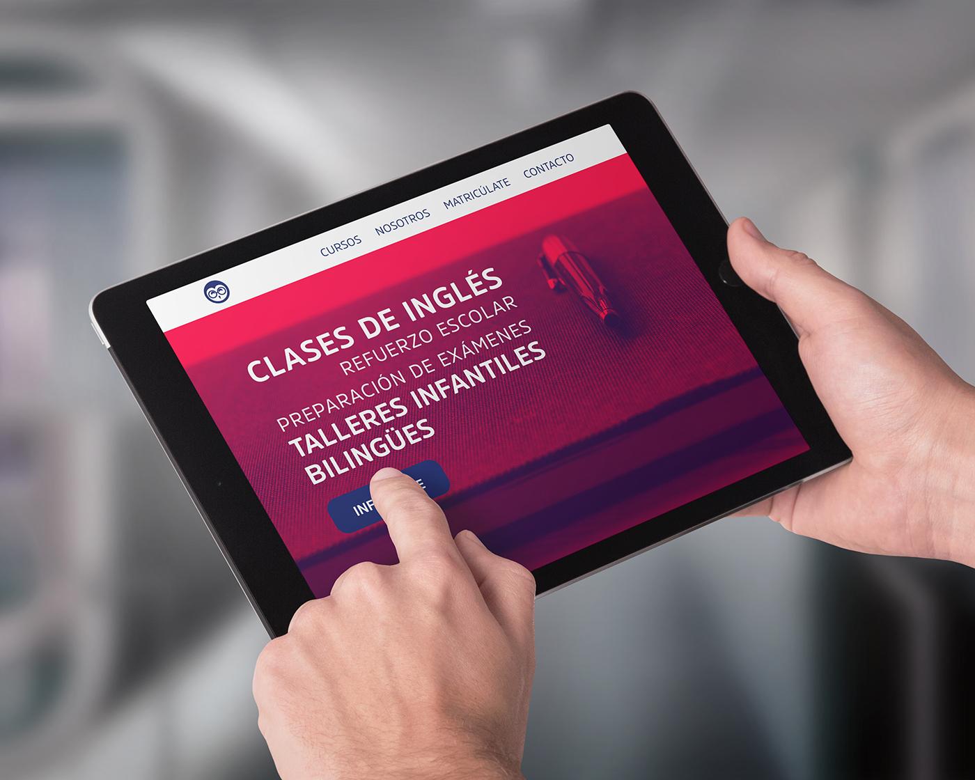 Mockup Web Tablet