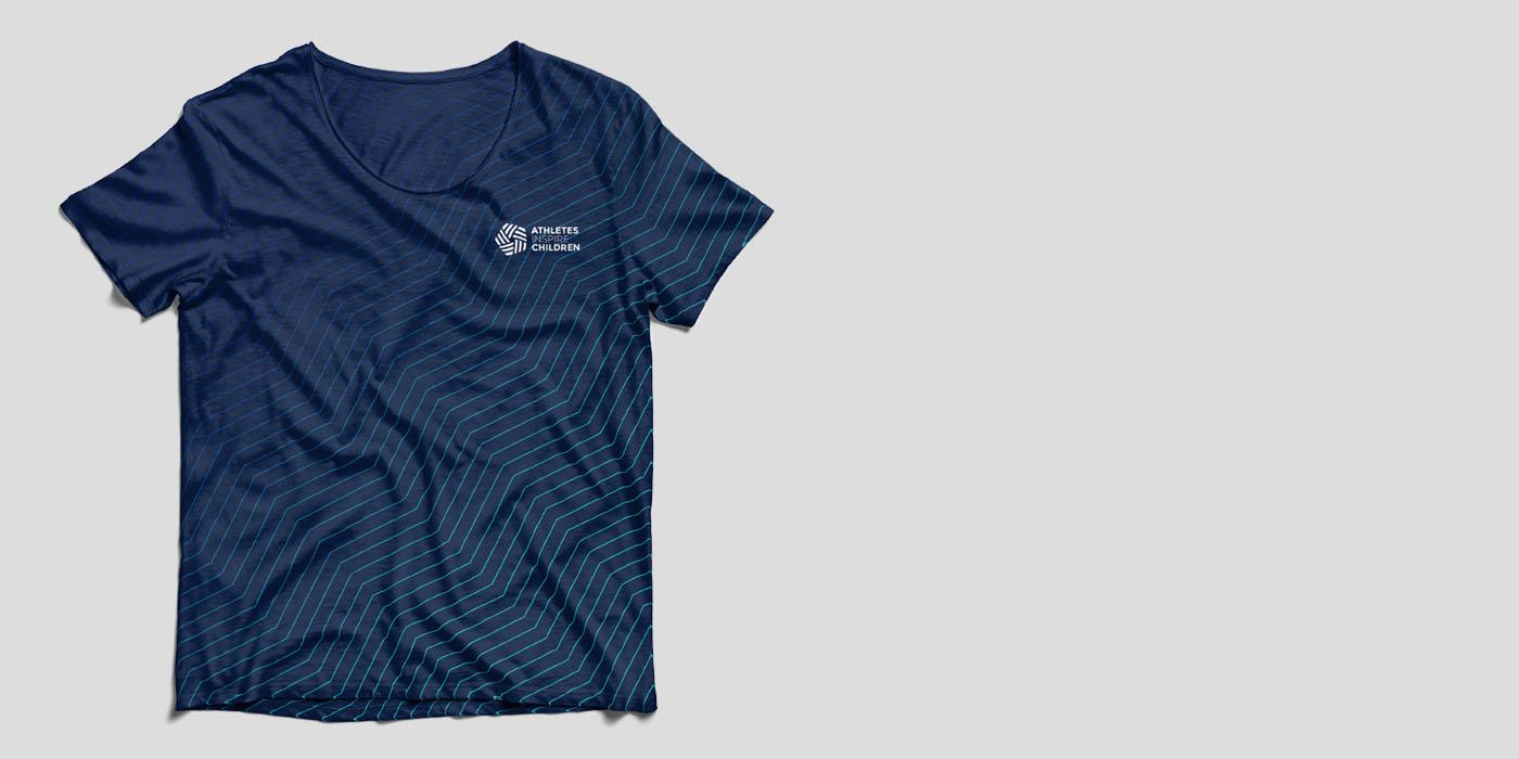 Athletes inspire Children Camisetas