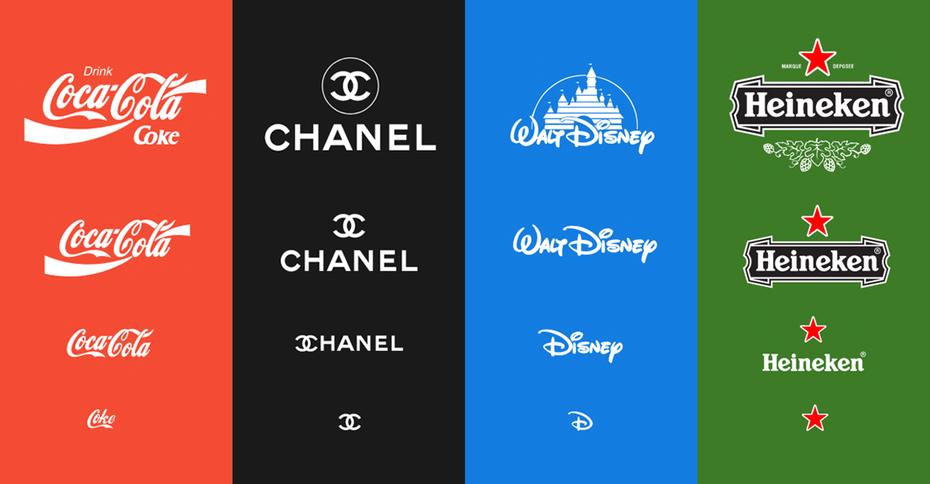 Responsive logos. Adaptabilidad