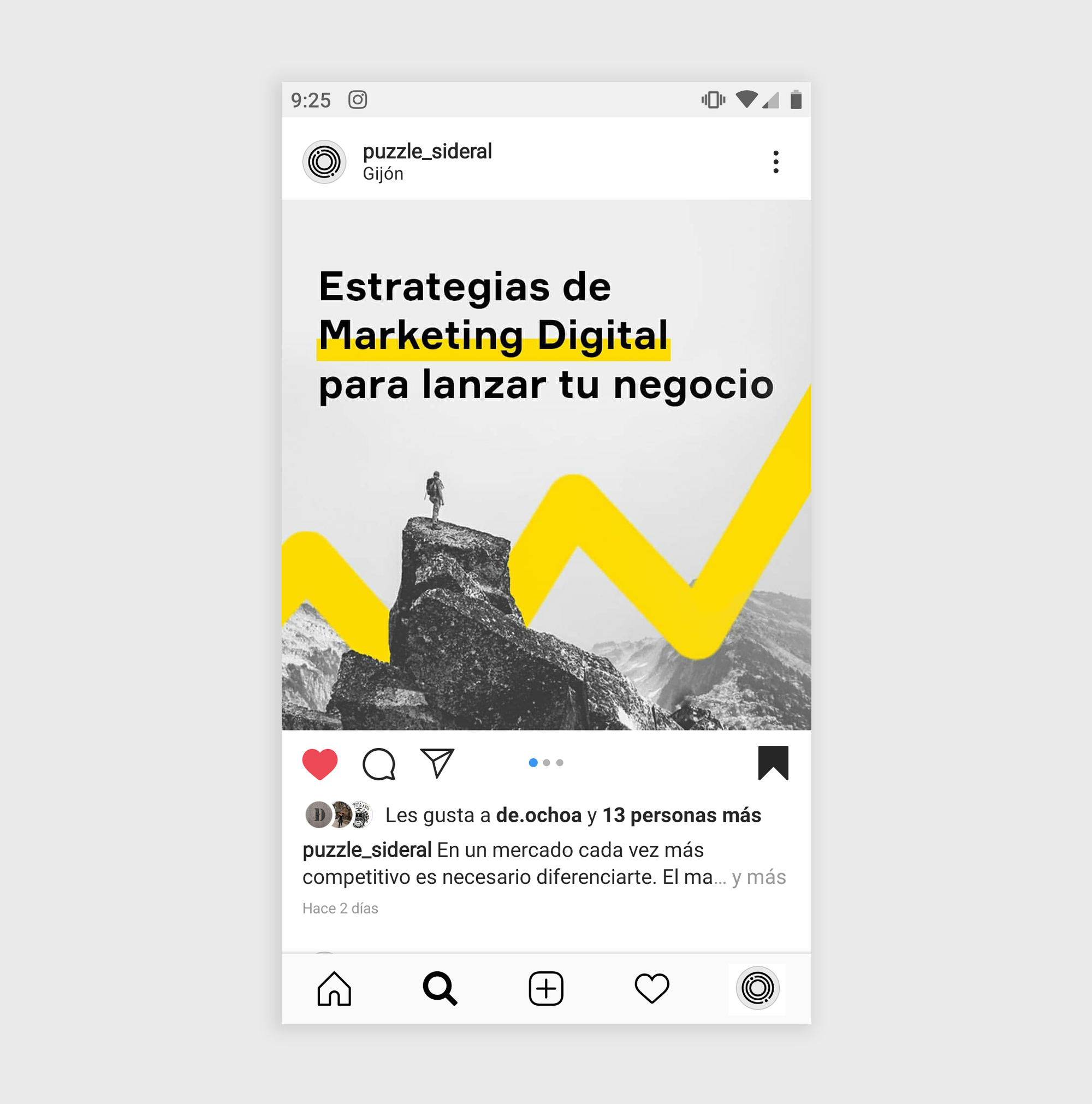 Diseño Post Instagram