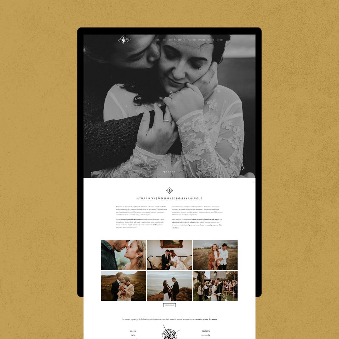 Diseño Web Alvaro Sancha